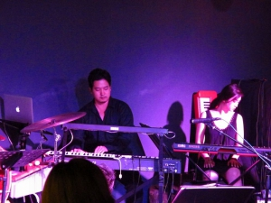 Famous pianist CK performing with his band!