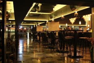 Bar area seats