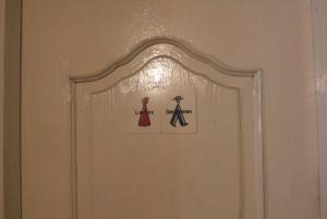 Bathrooms shared at Come Inn