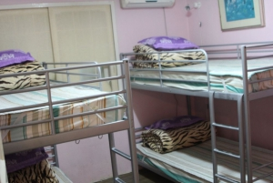 Dormitory for four at Come Inn