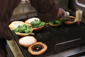 Prepping buns