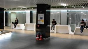 Secret resting area inside Gangnam Station