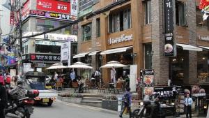 Cafe Bene back street
