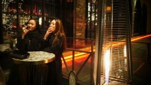 Smoking area