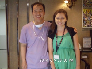 Doctor Koo with Danielle