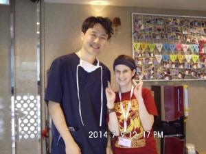 Happy patient Ashley