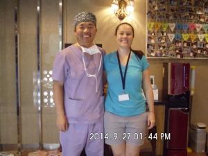 Doctor Koo with Cheri