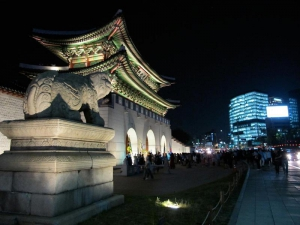 Gwanghwamun, Gyeonbokgung Palace front gate