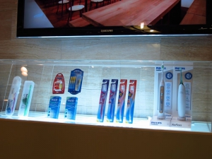 Dental products display