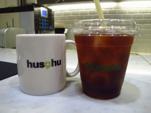 Small cafe inside Hus-hu!