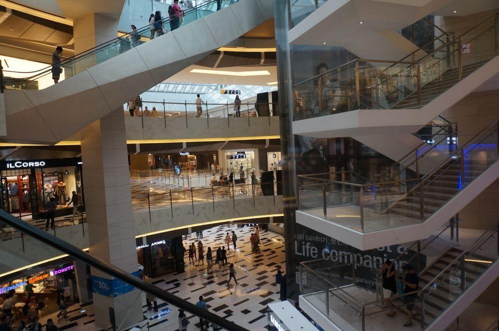 Ifc Mall In Seoul My Guide Seoul