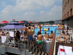 Outdoor Pool at Hamilton Hotel
