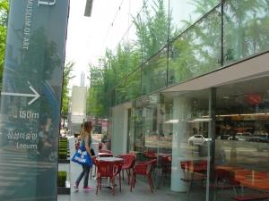 Comme des Garcons Itaewon main street