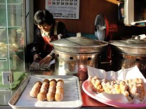 Street food sweets