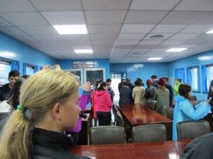 Inside the negotiation room at JSA