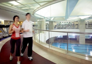 Fitness- 14,212 square meters over three floors