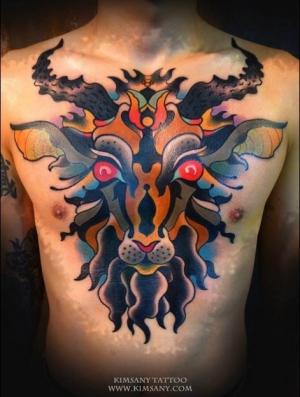 Kim Sany Tattoo