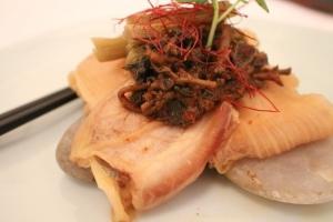 Pork belly and vintage kimchi!