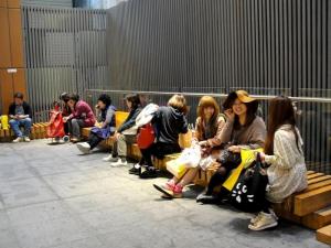 Japanese tourists