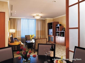 4 Bedroom Premier - Living Room