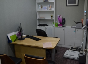 Dermatology Consultation room