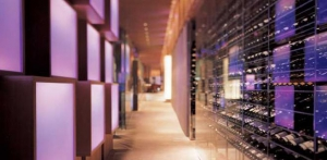 Wine Library Wall at Cornerstones