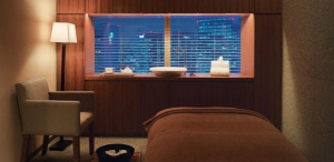 Spa Treatment Room by Night