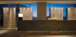 Reception Desk on 24th Floor