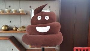 Big poop hat