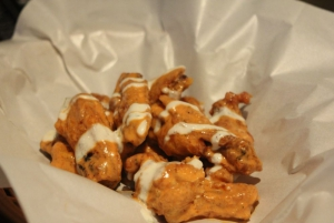 Perhaps their most popular dish. Creamy cool wings