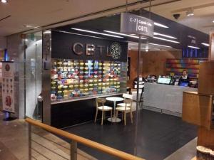 Cafe inside COEX