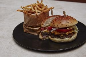 San Francisco style burger