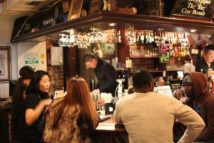 Guests upstairs bar