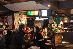 Downstairs bar