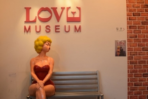 There is a Love museum inside Trick Eye Museum