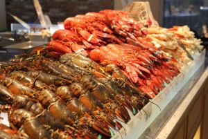 Lobster market. All you can eat.