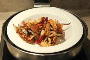 Spicy Korean crab legs