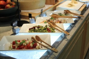 Fresh made salads to choose from