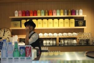 smiling staff and premium beverages