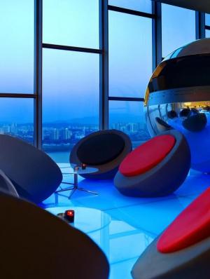 Living room DJ Booth