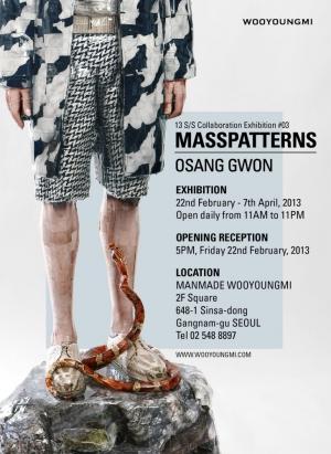 Masspatterns Exhibition Poster