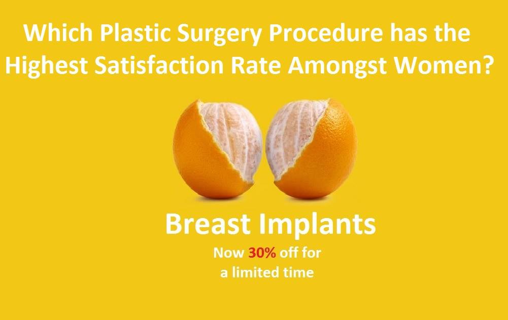 30% Off Breast Implants!