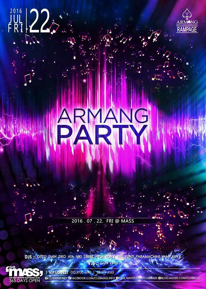 ARMANG PARTY TEAM