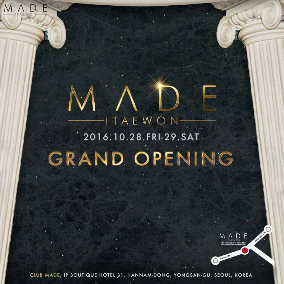 Club Made GRAND Opening!