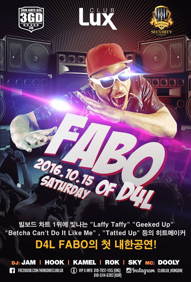 FABO of D4L First show in Korea