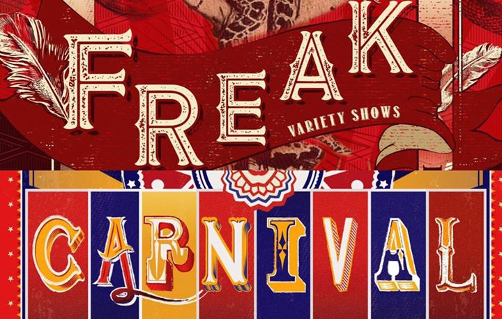 """FREAK""/ ""CARNIVAL""_DISTRICT Halloween Party"