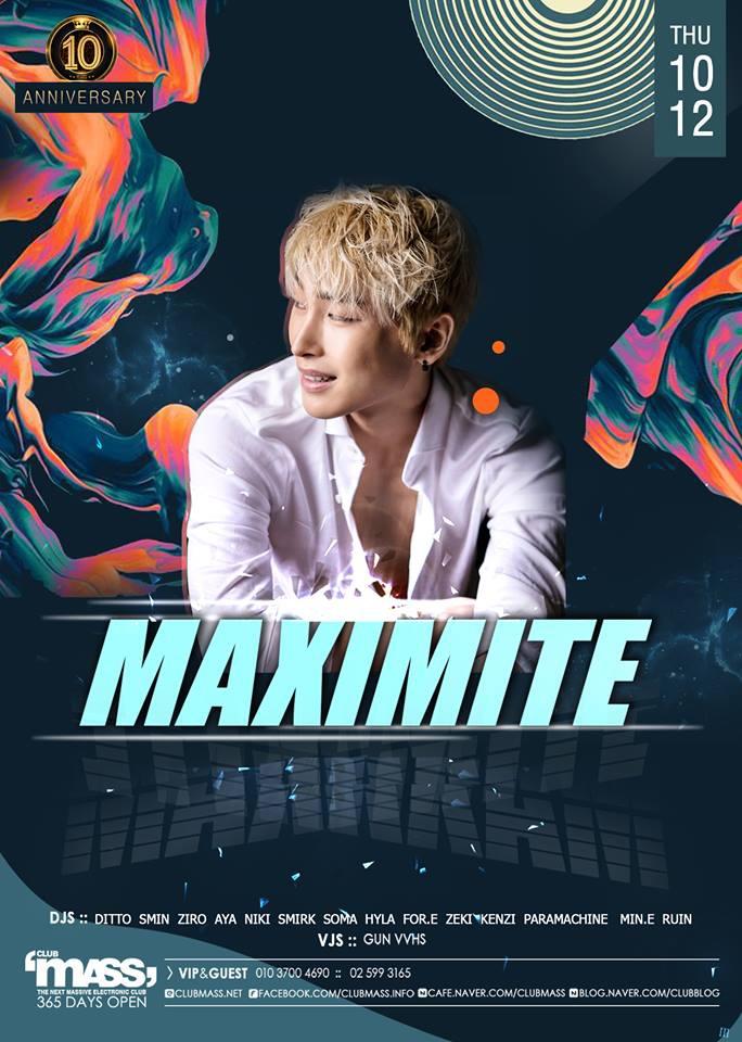 GUEST DJ_ MAXIMITE