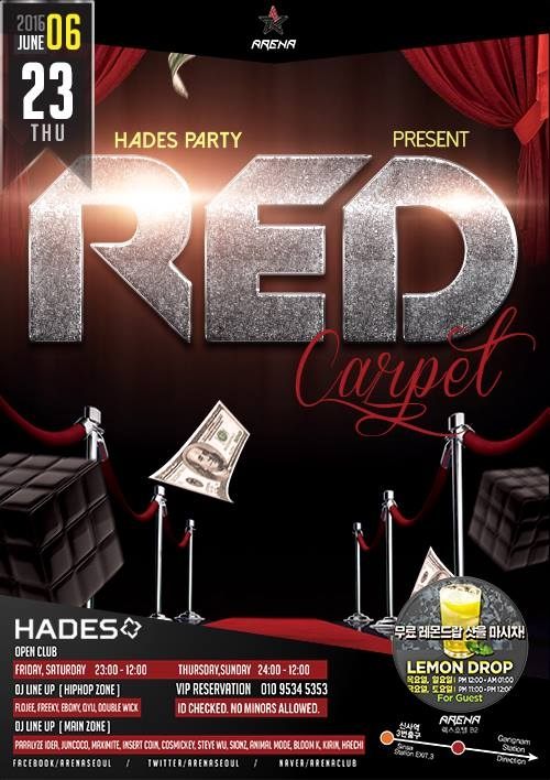 HADES PARTY at Club Arena