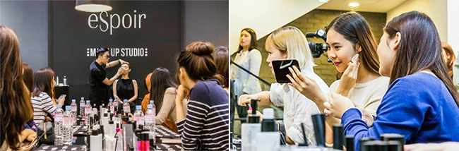 Hallyu Star Makeup Experience Program