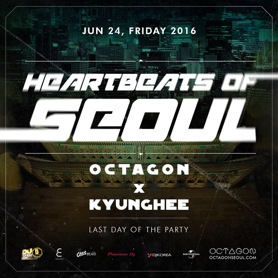 HEARTBEATS OF SEOUL at Club Octagon!